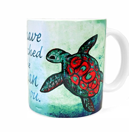 Amazon Home And Kitchen Sea Turtle Mug