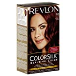 Revlon Color Silk Beautiful Color Permanent Color, Burgundy 48