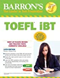 img - for By Pamela Sharpe Ph.D. Barron's TOEFL iBT with Audio Compact Discs, 14th Edition (14th Edition) [Paperback] book / textbook / text book