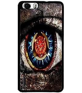 ColourCraft Creative Eye Design Back Case Cover for HUAWEI HONOR 6