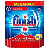 Product Image of Finish All-in-1 Max Lemon Dishwasher Tablets (Pack of 90)