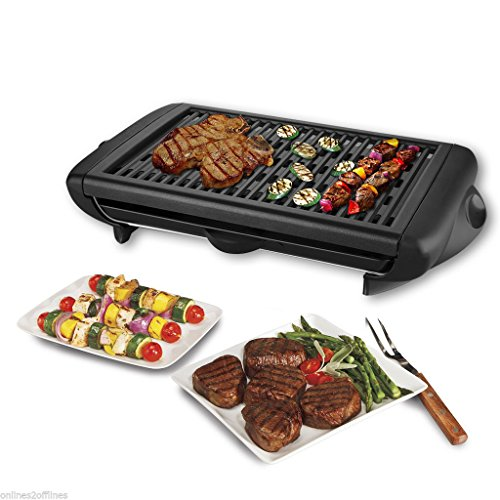 Gracelove Electric Grill NonStick Smokeless Griddle Indoor Barbecue BBQ String Lights Lamp(Type 1) (Raclette Grill 4 Person compare prices)