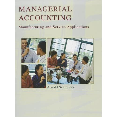 management accounting fifth edition answers manual