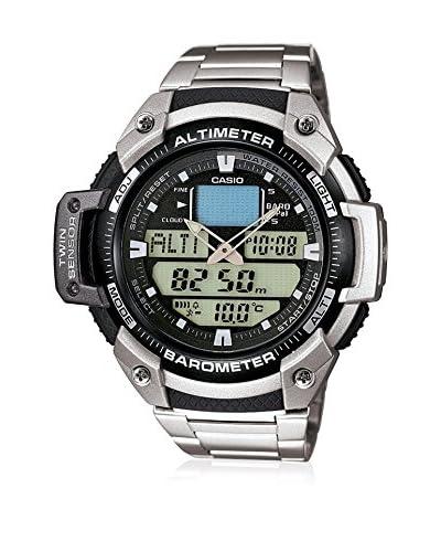 Casio Reloj Sports Plateado 52 mm