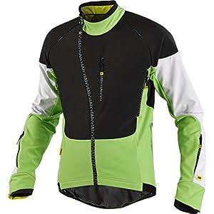 Mavic Inferno Winter Fahrrad Jacke schwarz/grün/weiß 2015: Größe: S (44/46)