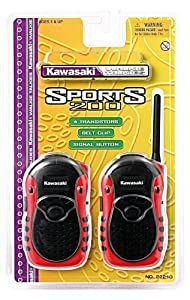 Kidztoyz Kawasaki Sports Style Walkie Talkies