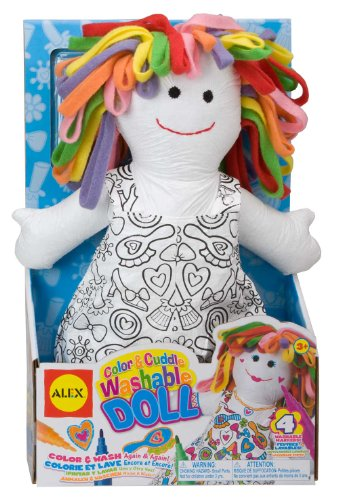 Alex Toys - Color A Bag! & Accessories, Color And Cuddle Doll, 69Wd