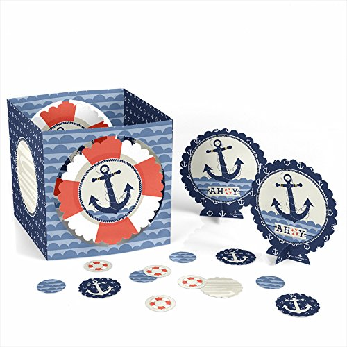 Ahoy Nautical - Party Table Decorating Kit