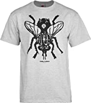 Powell Peralta Fly T-Shirt, Gray, X-Large