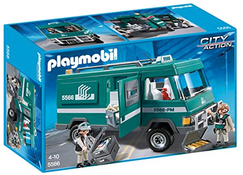 PLAYMOBIL Money Transport Vehicle Building Kit (Building Vehicles compare prices)
