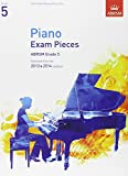 Piano Exam Pieces 2013 & 2014, ABRSM Grade 5: Selected from the 2013 & 2014 Syllabus (ABRSM Exam Pieces)