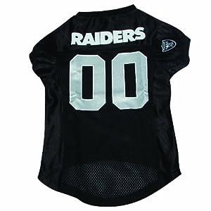 Hunter MFG Oakland Raiders Dog Jersey, Large by Hunter