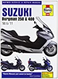 Suzuki AN250 & 400 Burgman Service and Repair Manual: 1998 to 2010 (Haynes Service and Repair Manuals) Phil Mather