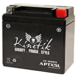 12V 4AH Scooter Battery for YAMAHA XC50 Vino Classic 50CC 2006-'07