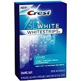 Crest 3D Whitestrips Classic Vivid Teeth Whitening Kit, 12 Count