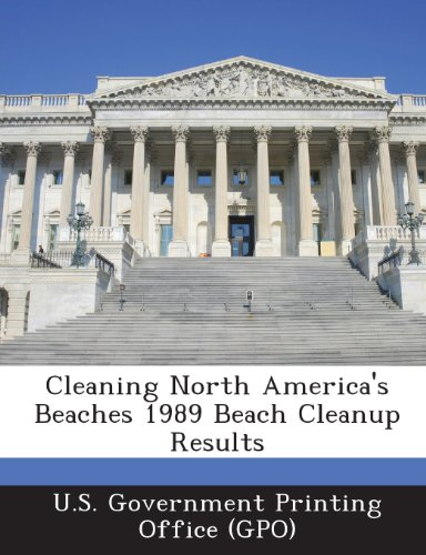 Cleaning North America's Beaches 1989 Beach Cleanup Results