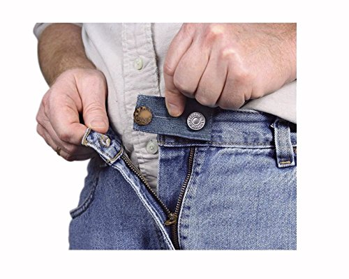Lowest Price! 3 Easy Fit Buttons for Jeans with Metal Button