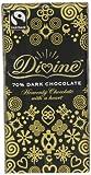 Divine Fairtrade 70% Dark Chocolates 100 g (Pack of 5)