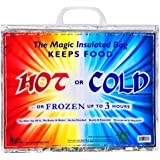 """Large Insulated Bag, Keeps Food Hot or Cold up to """"3 Hours"""" with Handle *Great Quality*"""