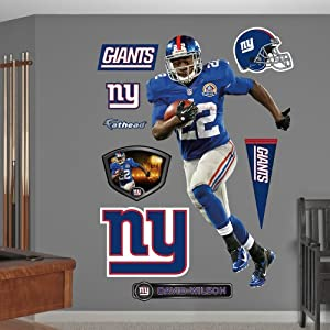 NFL New York Giants David Wilson Home Wall Graphics by Fathead