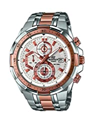 Casio Edifice Analog White Dial Men's Watch - EFR-539SG-7A5VUDF(EX...