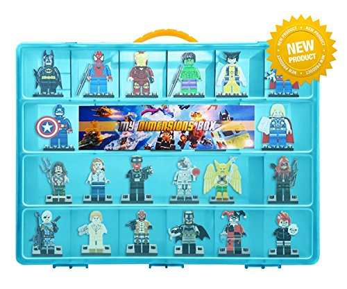Lego-Dimensions-Compatible-Organizer-My-Dimensions-Box-The-Perfect-Lego-Dimensions-Compatible-Storage-Box-Stores-Up-to-30-Lego-Dimensions-Large-Sturdy-Case-And-Carrying-Handle-Blue