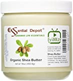 Shea Butter - 16 oz. - Organic - Unrefined - In HDPE Jar