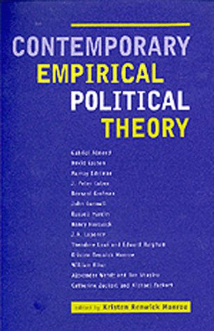 Contemporary Empirical Political Theory