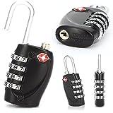 CellDeal 2 X TSA Security 4 Combination Travel Suitcase Luggage Bag Code Lock Padlock