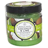 Asquith & Somerset Tropical Fruits Coconut & Lime Sugar Scrub 19.4 Oz. From England