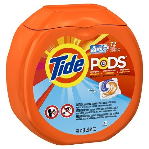 Tide PODS Laundry Detergent Pacs - Ocean Mist - 72 ct kitdpr04789dracb022514ct value kit purex liquid he detergent dpr04789 and shout laundry stain remover dracb022514ct