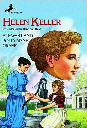 Helen Keller (Young Yearling Book) written by Stewart Graff