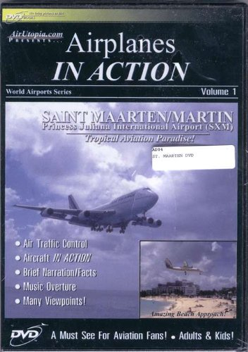 Airplanes In Action ST. Maarten Dvd