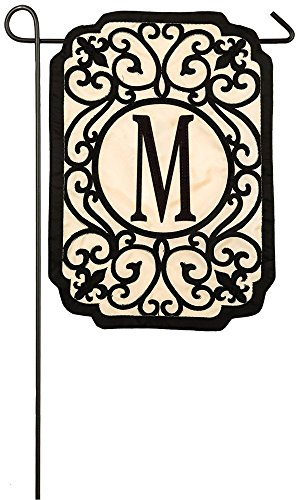 evergreen-filigree-monogram-m-applique-garden-flag-125-x-18-inches