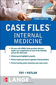 "Cover of ""Case Files Internal Medicine, T..."