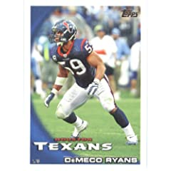 2010 Topps NFL Football Card # 37 DeMeco Ryans - Houston Texans - NFL Trading Card in... by Topps