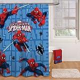 Title in catalog: Disney Spider Man Shower Curtain 72in. X 72in