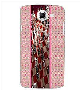PrintDhaba Chess D-3789 Back Case Cover for SAMSUNG GALAXY MEGA 5.8 (Multi-Coloured)