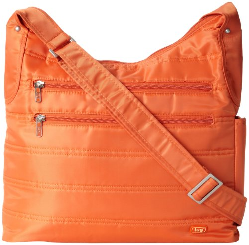 Lug Cable Car Satchel, Sunset Orange, One Size