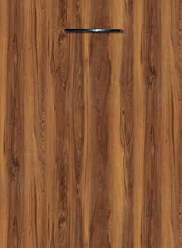 Küchenschrank Unterschrank Front für Geschirrspüler FE (Breite 45cm-vollintegriert, 36 Tirano Birnbaum)