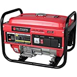 Trueshopping® Petrol Generator Powerful Portable Heavy Duty 2.2KVA 6.5HP 15L Fuel Tank 4 Stroke Engine Stable Frequency Stand By & Daily Use