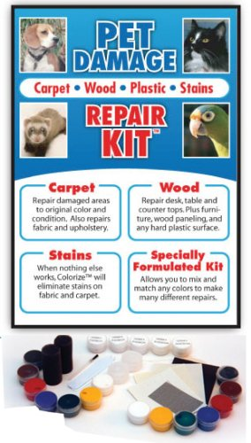 Pet Damage Repair Kit For Carpet, Wood, Plastic