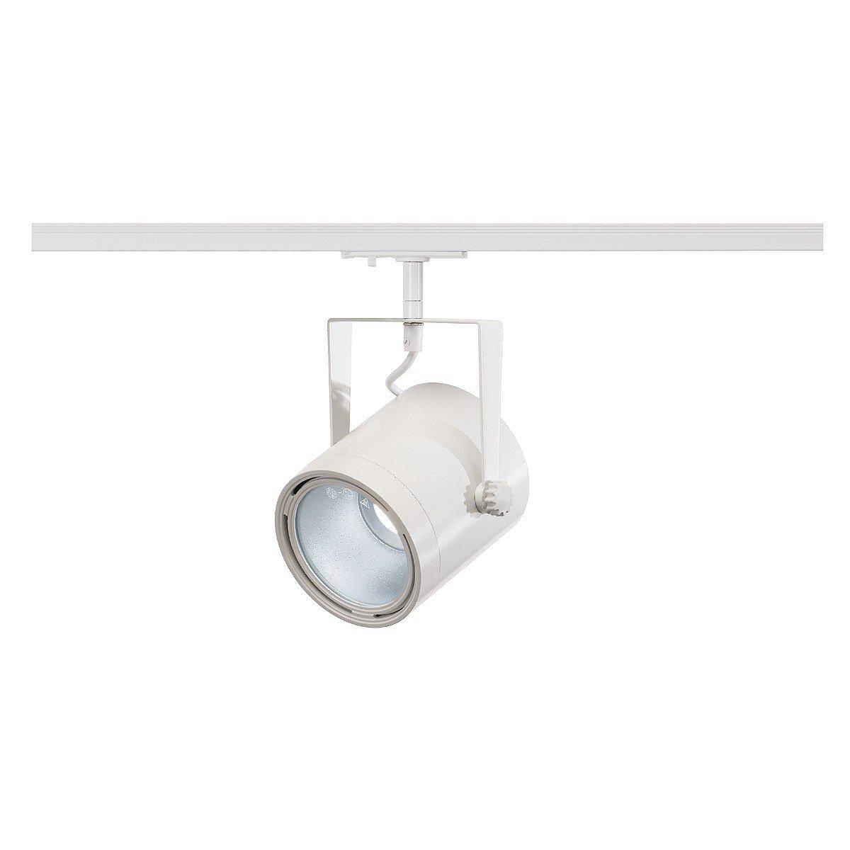 SLV Euro Spot LED Disk 800, 11 W, 4000 K, 60 Grad, inklusive 1P-Adapter, weiß 143841