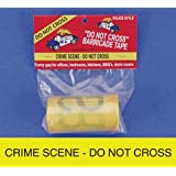 Big Mouth Toys Crime Scene Caution Tape, 50 Foot Roll
