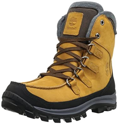 Timberland Ek Chillberg Premium Waterproof, Chaussures de randonnée montantes homme - Jaune (Wheat), 41 EU (7 UK) (7.5 US)