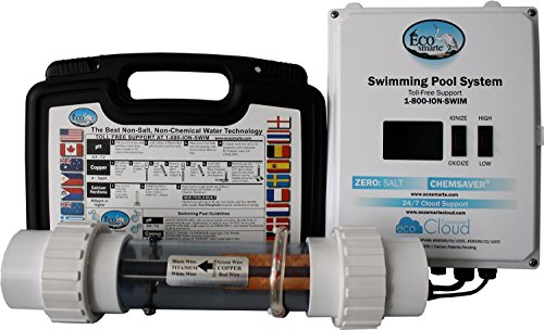 Professional Grade Products 9800658 Ecosmarte Pool Turbo Non Salt And Non Chlorine Fresh Water