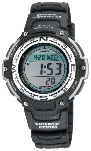 Casio Men's SGW100-1V Digital Compass Twin Sensor Sport Watch