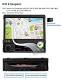 NAVISKAUTO-7-Windows-CE-60-1-Din-Autoradio-Auto-DVD-Player-Spieler-Touch-Screen-GPS-Navi-Navigation-Multimedia-Entertainment-800480-Untersttzt-Bluetooth-FM-AM-Radio-Subwoofer-Rckfahrkamera-Externe-TV-