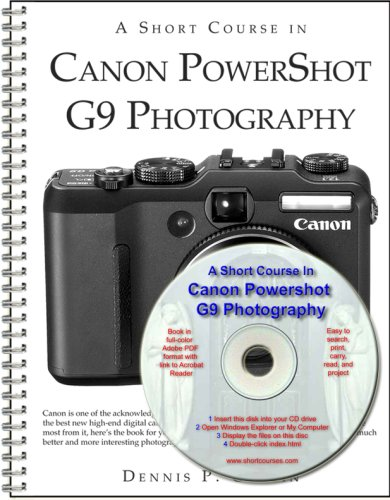 A Short Course in Canon Powershot G9 Photography book/ebook