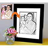 Gift For Father | Gift For Papa | Birthday Gift For Papa | Photo Frame(11x9)inch With Personalized Photo(7x5)inch...